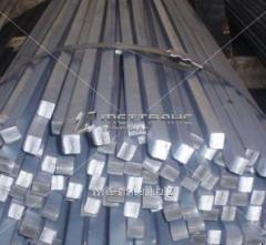 Квадрат стальной 21 калиброванный, сталь 09Г2С, 10Г2, 30ХМА, 30ХГСА, 40ХН, ГОСТ 8559-75