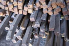 Квадрат стальной 21 калиброванный, сталь 35, 40, 45, 50, 55, ГОСТ 8559-75