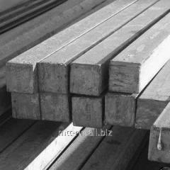 Квадрат стальной 52 горячекатаный, сталь 09Г2С, 10Г2, 30ХМА, 30ХГСА, 40ХН, ГОСТ 2591-2006