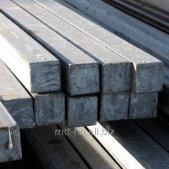 Квадрат стальной 52 горячекатаный, сталь У7, У8, У8А, У10, У10А, ГОСТ 2591-2006