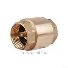 16B1bk valve 50 En 16 kgf, brass, caps, t up to