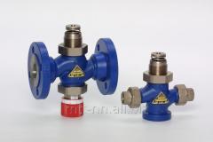 Regulating valves