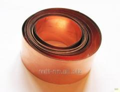 Tape copper 0.12 to GOST 1173-2006, mark M1