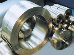 Лента нержавеющая 1,1 сталь 10Х17Н13М3Т, по ГОСТу 4986-79