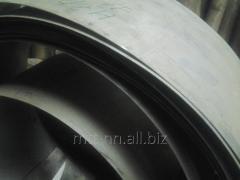 La cinta el 1,8 acero inoxidable 03H18N12-VI, por el GOST 4986-79