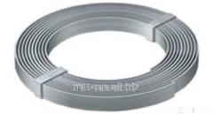 Steel strip spring 0.1, according to GOST 2283-79,