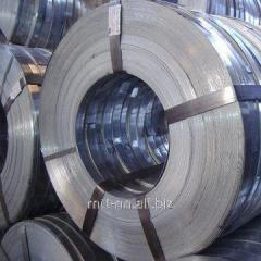 Steel strip for armouring cables 0.2, according to
