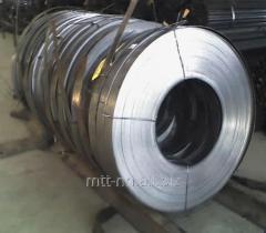 Лента стальная 1,7 пружинная, по ГОСТу 2283-79, сталь 65Г, У8А, 60С2А