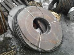 Steel strip spring 3.8, GOST 2283-79, steel 65 g,
