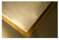 Brass sheet 1.7 according to GOST 2208-2007, mark