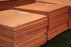 Copper sheets