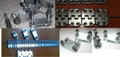 Mechanical connectors of conveyer belts
