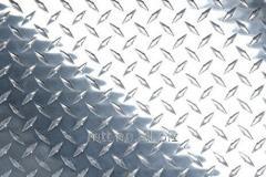 Blad av aluminium räfflat