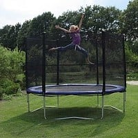 The trampoline with a grid diameter is 3 m