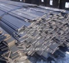 Полоса стальная 10x5 резаная из листа, сталь 12ХН,