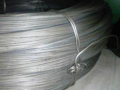 Проволока алюминиевая 5,5 для холодной высадки, по ГОСТу 14838-78, марка Д18