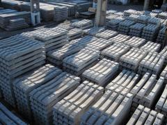Cross ties reinforced concrete under Fosslo's