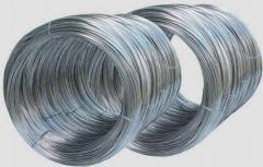 Проволока для холодной высадки 3,4 сталь 45, 40, 35, 30, по ГОСТу 5663-79, углеродистая 1 и 2 класс