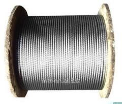 Rope wire GOST 7372-79 0.2, uncoated