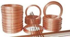Copper wire 1.4 welding according to GOST