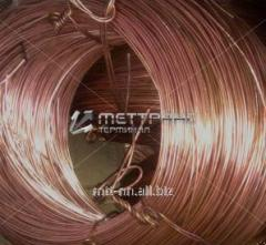 Copper wire 10 cylinder wire to GOST 4752-79, mark