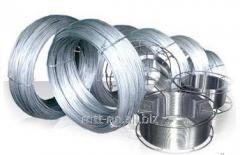 Проволока пружинная 0,1 по ГОСТу 9389-75, сталь