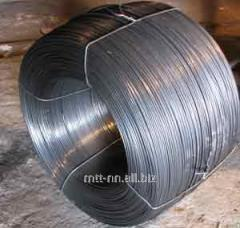 Spring wire alloyed 9 according to GOST 14963-78,