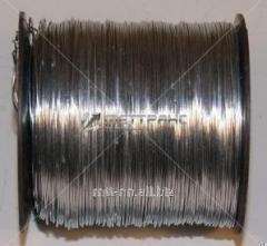 El alambre el 2,5 acero Sv08G2S de soldar, Sv08GS, 08Г2С, 08ГС, por el GOST 2246-70, neomednennaya
