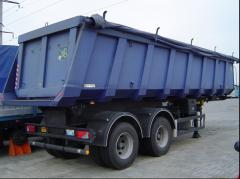 VARZ NPS-2240 semi-trailer dump truck,