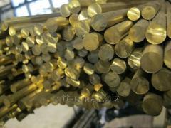 Пруток бронзовый 12 по ГОСТу 10025-78, марка БрОФ