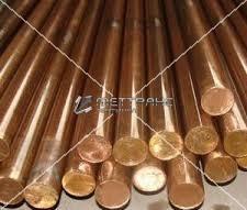 Пруток бронзовый 63 по ГОСТу 24301-93, марка Бр03Ц7С5Н1