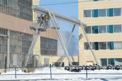 Crane goat tubular / p 5 - 10 tn