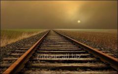 Рельсы железнодорожные РП75, ГОСТ Р 51045-97, лежалые с гос резерва, нетермоупрочненные, мерной длины
