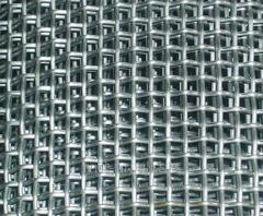 Сетка тканая 14x14 по ГОСТу 3826-82, сталь 3сп5, 10, 20