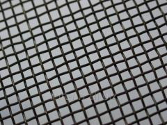 Сетка тканая 16x16 по ГОСТу 3826-82, сталь 3сп5, 10, 20