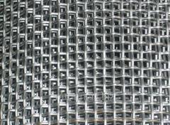 Сетка тканая 2.8x2.8 оцинкованная, по ГОСТу 3826-82, сталь 3сп5, 10, 20