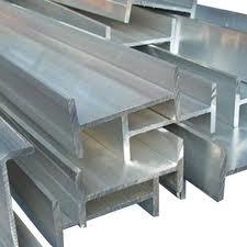 Тавр алюминиевый 100x130x25x10 ГОСТ 13622-91, марка АД31Т, АД31