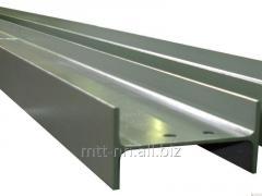 Тавр алюминиевый 100x130x25x10 ГОСТ 13622-91, марка Д1, Д16, Д16ч, Д19ч, Д20