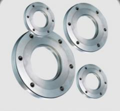 Flange from a stainless steel, flanges from