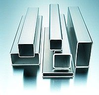 Pipe square of corrosion-resistant steel
