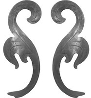 Decorative elements (stamping, molding)