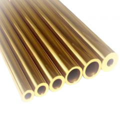 Труба латунная 100x10 по ГОСТу 617-2006, марка Л96