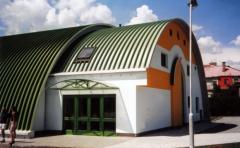 Sewing workshops, buildings of light industry