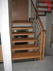 Wooden ladders on bolets