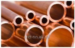 Copper tube 10 x 0.4 according to GOST...