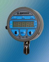 Manometers exemplary DM5002