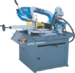"""The machine is lentochnopilny, the ARG series of """"N"""" with hydraulic raising of a saw frame."""