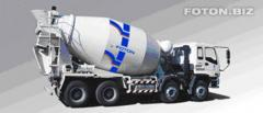 Foton Auman concrete pump (Photon Auman)
