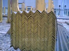 Уголок стальной 40x30x5 неравнополочный, сталь 09Г2С-14, 10ХСНД, 15ХСНД, С345, ГОСТ 8510-86