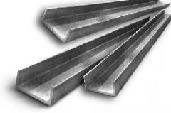 Швеллер нержавеющий 100x50x6 сталь AISI 304, 321, 439